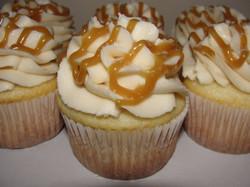 White Caramel Cupcake