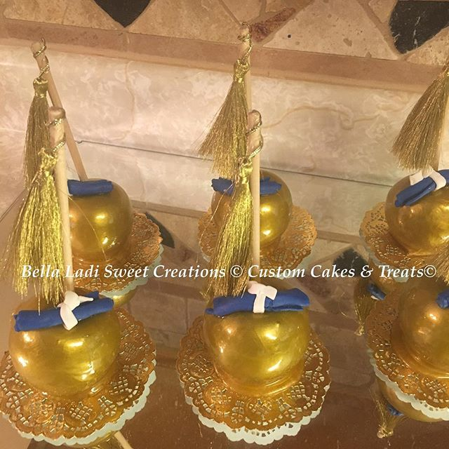 Metallic Candy Apples