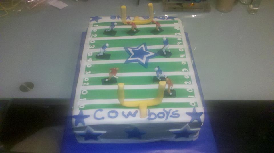 Custom Football Birthday Cake
