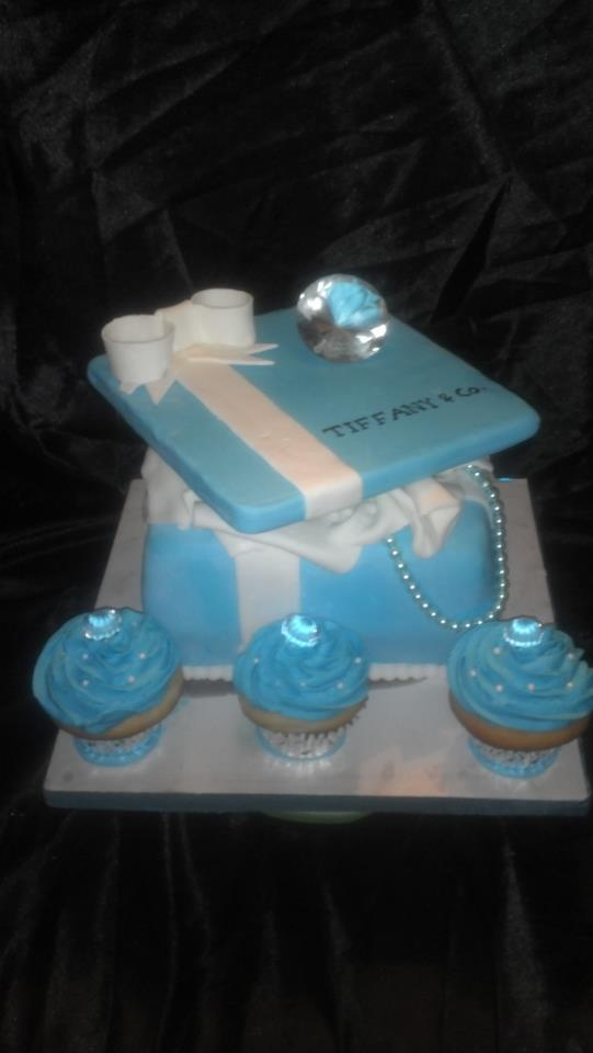Custom Tiffany Cake