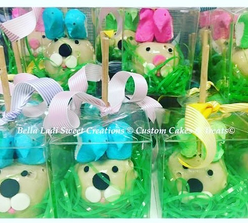 Easter Candy Apples