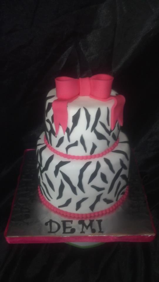 Custom Zebra Cake