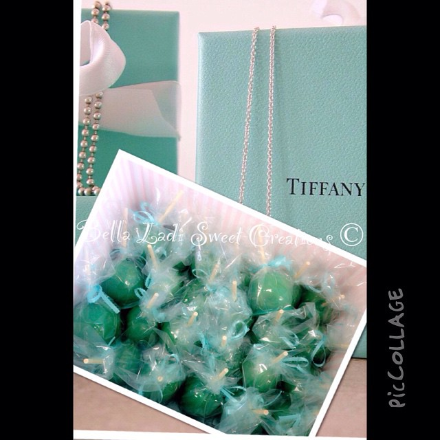 Tiffany & Co. Candy Apples