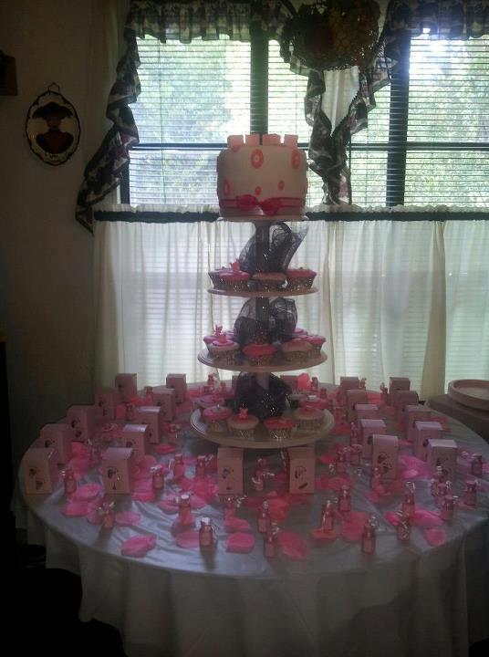 Custom Baby Shower Cake