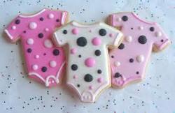 Custom Baby Shower Cookies