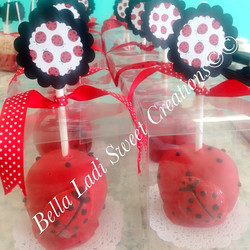 Chocolate Candy Apples