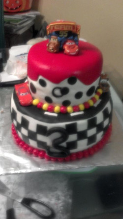 Custom Cars Birthday Cake