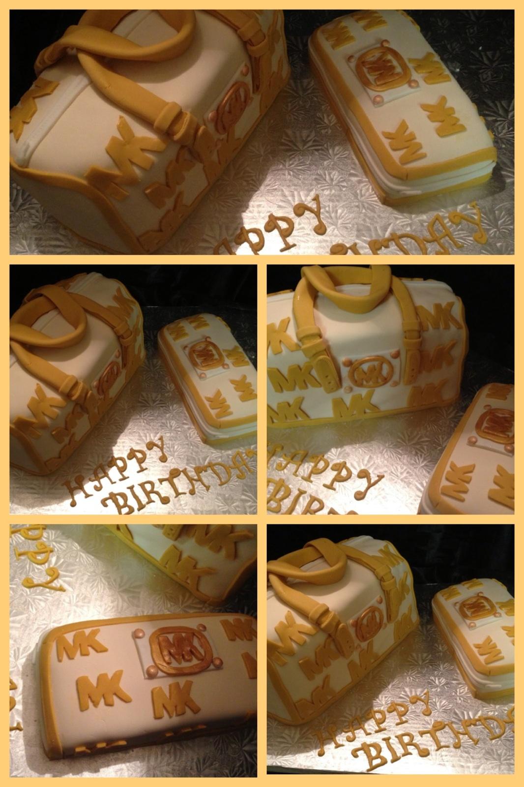 Custom Michael Kors Cake