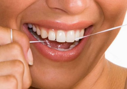 Uso do fio dental