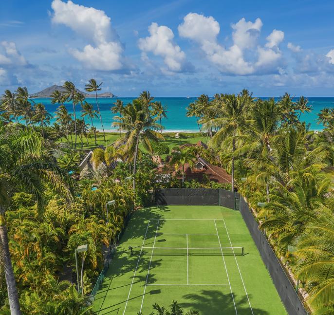Oahu 320 Private tennis court