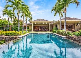 Rent a beautiful Villa on the Main Island, Hawaii. This is a 4-bedroom villa
