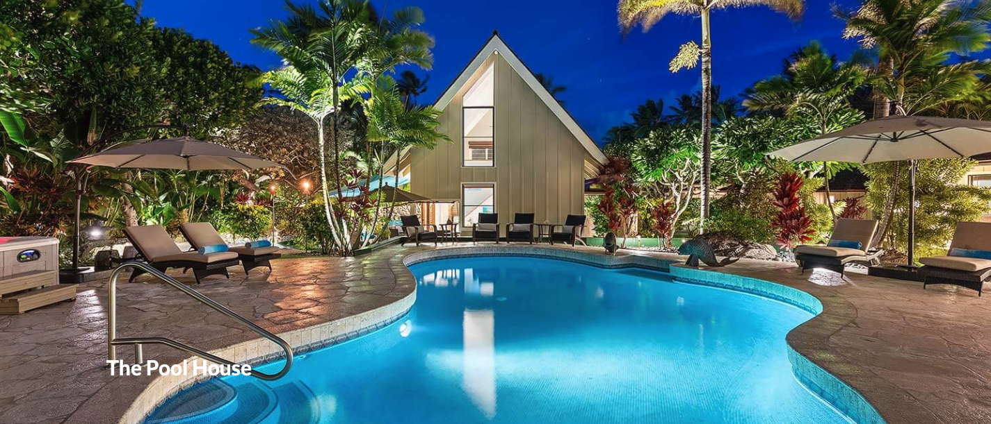 Oahu 320 Pool House