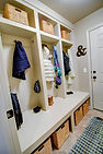 Berkey Home Builders Custom Mudroom Built-in