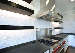 Kitchen Range Wall Detail