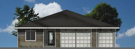 Berkey Home Builders Exterior Addyson Ranch New Home Construction Des Moines