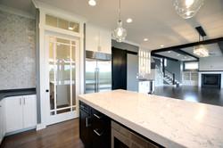 Kitchen and Pantry Door