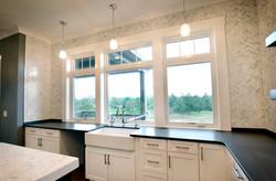 Kitchen Sink Windows Detail