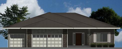 Berkey Home Builders Exterior Sutton Ranch New Home Construction Des Moines