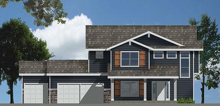 Berkey Home Builders Brady 2 Story New Home Construction Des Moines