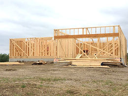 Berkey Home Builders New Construction Framing Altoona Iowa
