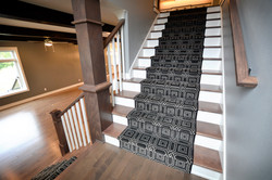 Stairway Runner Detail