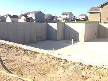 Altoona Berkey Home Builders Poured Foundation Walls