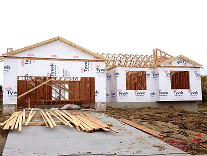 Berkey New Home Construction Framed House