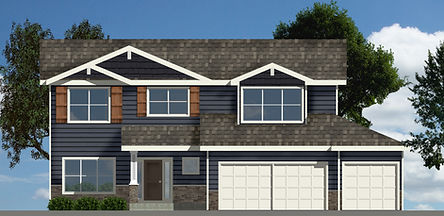 Berkey Home Builders Brooklyn 2 Story New Home Construction Des Moines