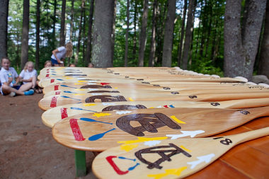 Camp Arcadia Paddles