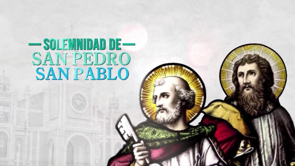 Homilía Mons. Juan Pedro Solemnidad San Pedro y San Pablo