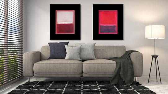 BIanco e roso e Rosso su rossoviola