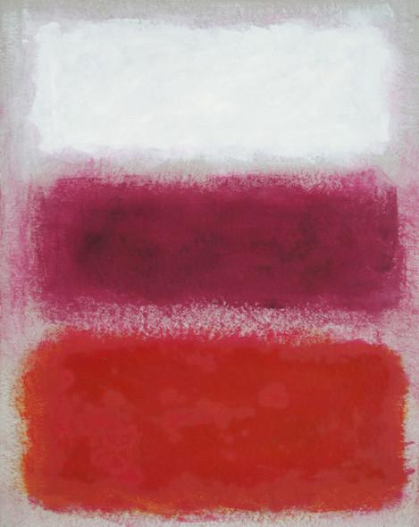 Rosso viola bianco su grigio