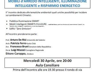 SMARTh FUrniTURE presentato a Minervino di Lecce