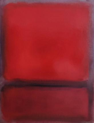 Rosso su grigio