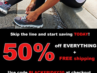 Black Friday SALE! Need new compression socks? SAVE 50% Today Only!