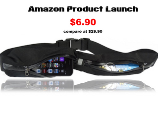 SLS3 is offering their new Dual Pocket Run Belt to anyone interested in writing a Review!