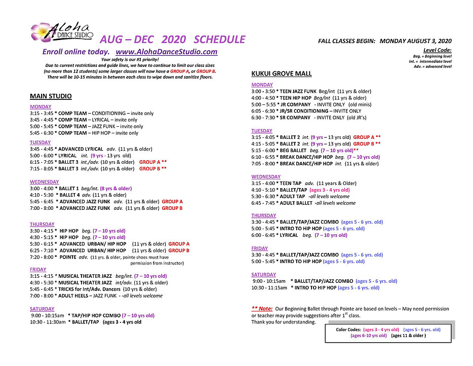 ADS 2020 FALL SCHEDULE- no teachers (1).