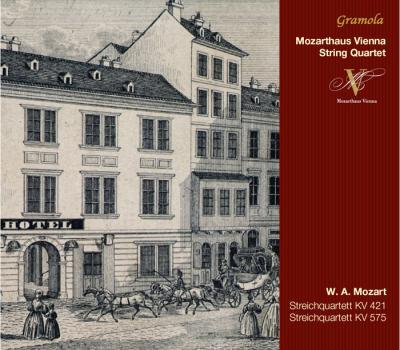 Mozart: String Quartets  KV.421 & KV. 575
