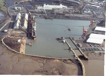Royal Portbury Dock Lock Survey
