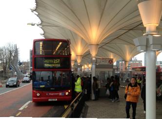 Stratford Bus Station Canopy