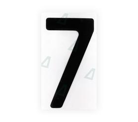Нанопленка на номера - пример 1