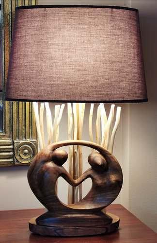 """Lampe """"Coup de Coeur"""" (Pièce unique)"""