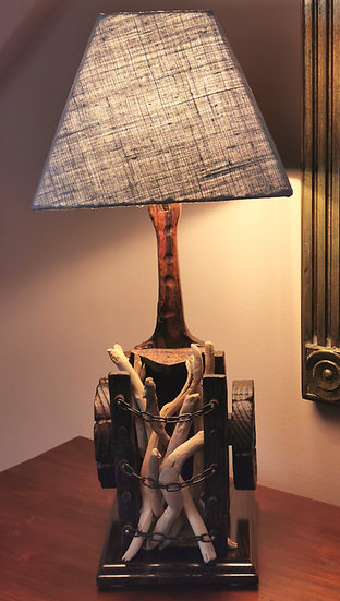Wagen lamp (Uniek stuk)