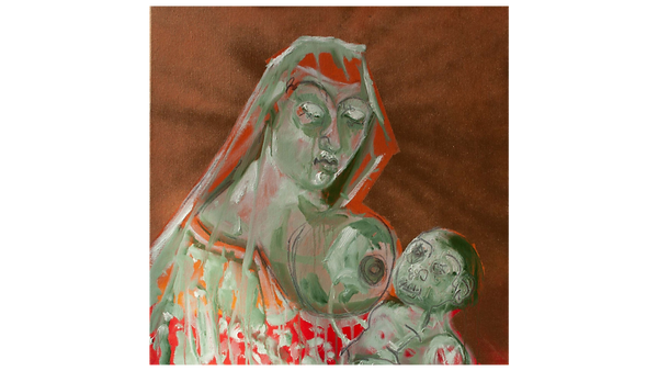 Mary with child I