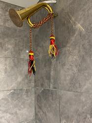 Music themed shower room