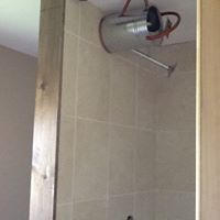 New shower rooms