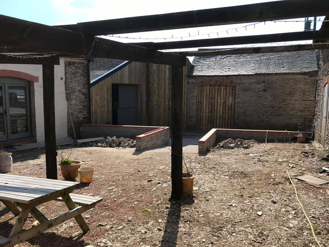 cottages courtyard