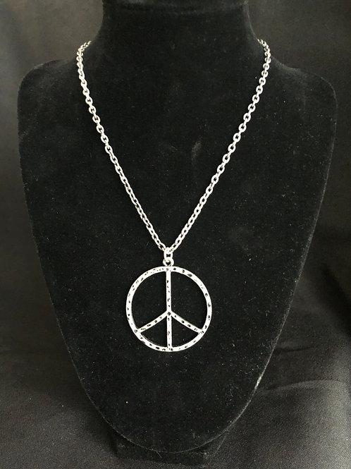 Peace Emblem Necklace