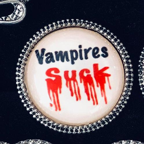 Vampires Suck ring