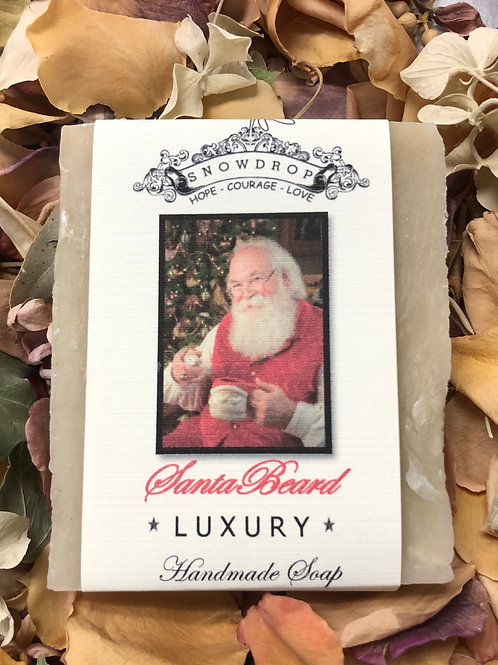 Santa's Beard Soap